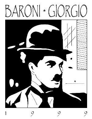 Charlie Chaplin by BARONIGIORGIO